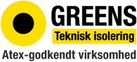Logo for Greens teknisk isolering